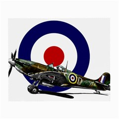 Spitfire And Roundel Glasses Cloth (small)