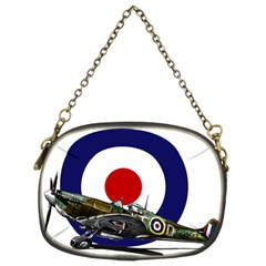 Spitfire And Roundel Chain Purse (two Sided)