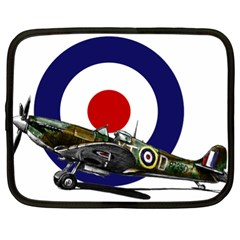 Spitfire And Roundel Netbook Sleeve (xl)
