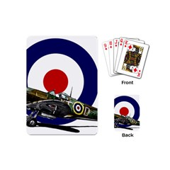 Spitfire And Roundel Playing Cards (mini)