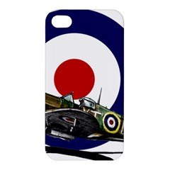 Spitfire And Roundel Apple Iphone 4/4s Hardshell Case