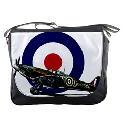 Spitfire And Roundel Messenger Bag
