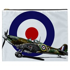 Spitfire And Roundel Cosmetic Bag (xxxl)