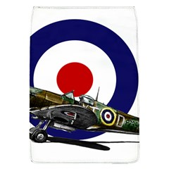 Spitfire And Roundel Removable Flap Cover (large)