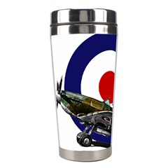 Spitfire And Roundel Stainless Steel Travel Tumbler