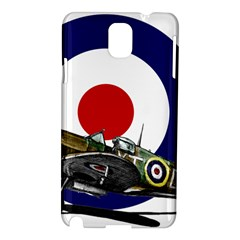 Spitfire And Roundel Samsung Galaxy Note 3 N9005 Hardshell Case
