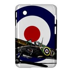 Spitfire And Roundel Samsung Galaxy Tab 2 (7 ) P3100 Hardshell Case