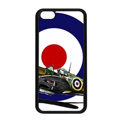 Spitfire And Roundel Apple iPhone 5C Seamless Case (Black)