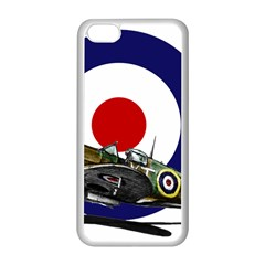 Spitfire And Roundel Apple iPhone 5C Seamless Case (White)