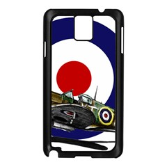 Spitfire And Roundel Samsung Galaxy Note 3 N9005 Case (Black)