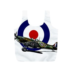 Spitfire And Roundel Reusable Bag (S)