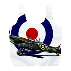 Spitfire And Roundel Reusable Bag (L)