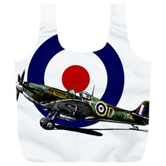 Spitfire And Roundel Reusable Bag (XL)