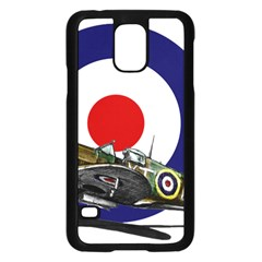 Spitfire And Roundel Samsung Galaxy S5 Case (Black)
