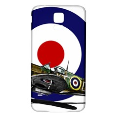 Spitfire And Roundel Samsung Galaxy S5 Back Case (White)