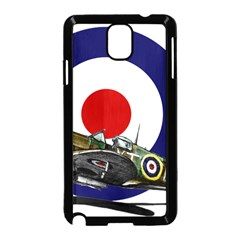 Spitfire And Roundel Samsung Galaxy Note 3 Neo Hardshell Case (Black)