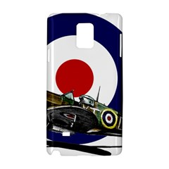 Spitfire And Roundel Samsung Galaxy Note 4 Hardshell Case