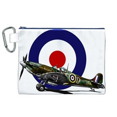 Spitfire And Roundel Canvas Cosmetic Bag (XL)
