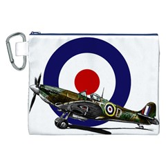Spitfire And Roundel Canvas Cosmetic Bag (XXL)