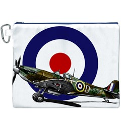 Spitfire And Roundel Canvas Cosmetic Bag (XXXL)