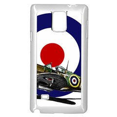 Spitfire And Roundel Samsung Galaxy Note 4 Case (White)