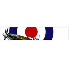 Spitfire And Roundel Flano Scarf (large)