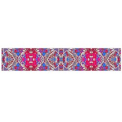 Colorful Ornate Decorative Pattern Flano Scarf (large)