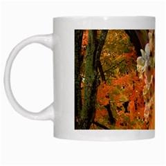 Autumn White Coffee Mug