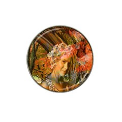 Autumn Golf Ball Marker (for Hat Clip)