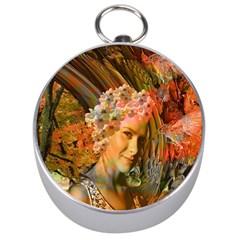 Autumn Silver Compass