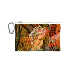 Autumn Canvas Cosmetic Bag (Small)