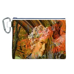 Autumn Canvas Cosmetic Bag (Large)