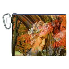 Autumn Canvas Cosmetic Bag (xxl)