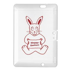 Cute Bunny Happy Easter Drawing I Kindle Fire Hdx 8 9  Hardshell Case