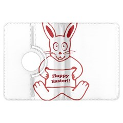 Cute Bunny Happy Easter Drawing i Kindle Fire HDX Flip 360 Case