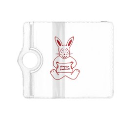 Cute Bunny Happy Easter Drawing i Kindle Fire HDX 8.9  Flip 360 Case