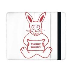 Cute Bunny Happy Easter Drawing i Samsung Galaxy Tab Pro 8.4  Flip Case