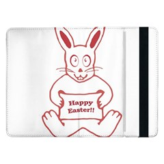Cute Bunny Happy Easter Drawing i Samsung Galaxy Tab Pro 12.2  Flip Case