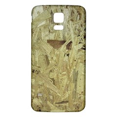 Particle Board Samsung Galaxy S5 Back Case (White)