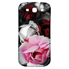 Black And White Roses Samsung Galaxy S3 S Iii Classic Hardshell Back Case