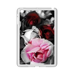 Black and White Roses Apple iPad Mini 2 Case (White)