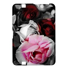 Black And White Roses Kindle Fire Hd 8 9  Hardshell Case