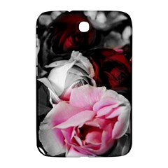 Black And White Roses Samsung Galaxy Note 8 0 N5100 Hardshell Case