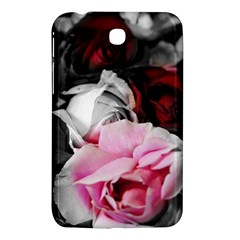 Black and White Roses Samsung Galaxy Tab 3 (7 ) P3200 Hardshell Case