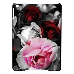 Black and White Roses Apple iPad Air Hardshell Case