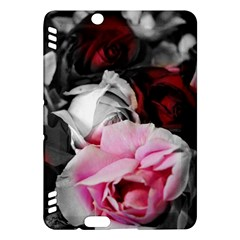 Black and White Roses Kindle Fire HDX Hardshell Case