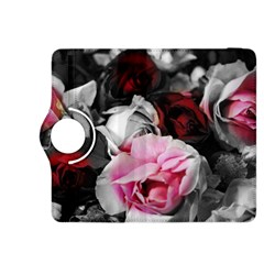 Black And White Roses Kindle Fire Hdx 8 9  Flip 360 Case