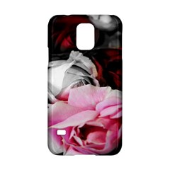 Black and White Roses Samsung Galaxy S5 Hardshell Case