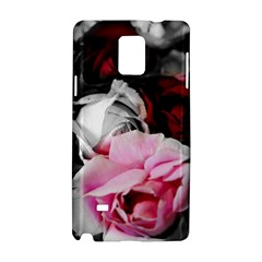 Black and White Roses Samsung Galaxy Note 4 Hardshell Case
