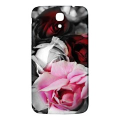 Black and White Roses Samsung Galaxy Mega I9200 Hardshell Back Case